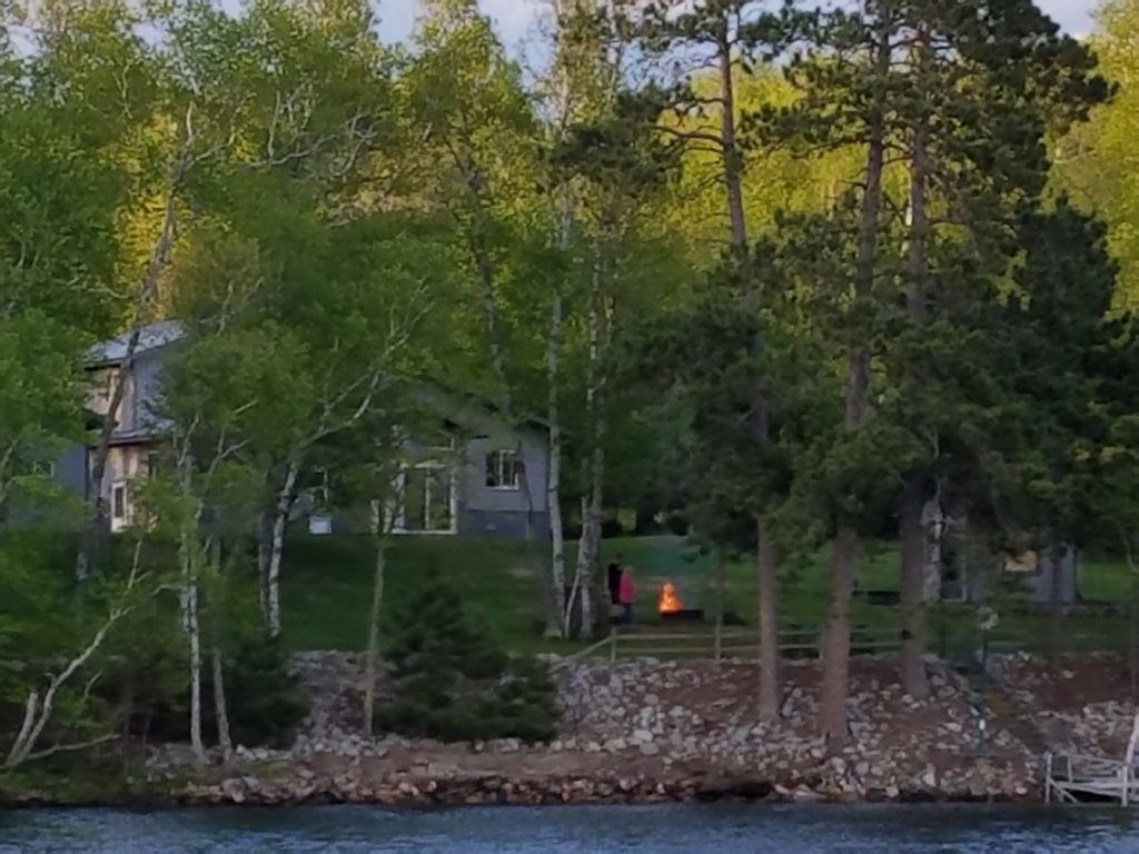 View of the property from the lake!